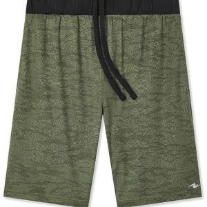 Men's Athletic Works Camo Knit Shorts